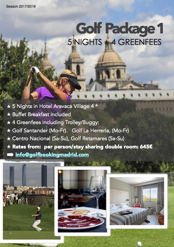 Madrid Golf Package 1